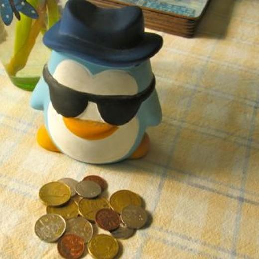Money Box NZ coins