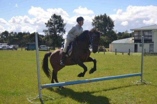 Megan horse jumping