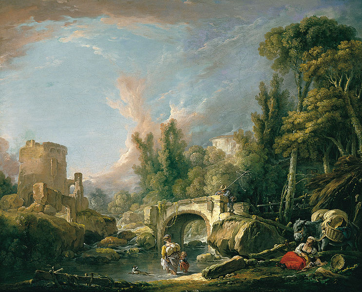 743px-Boucher_Paisaje_fluvial_con_ruina_y_puente