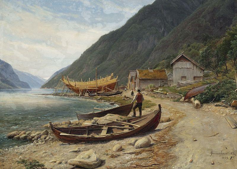 800px-Thomas_Fearnley_-_Gravensfjord_(1839)